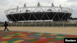 Лондондағы олимпиада ойындарының стадионы. Лондон, 2 мамыр 2012 жыл.