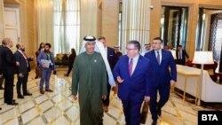 Сотир Цацаров беше в Абу Даби на среща с местния си колега д-р Хамад Сайф Бин Мусалам Ал Шамси