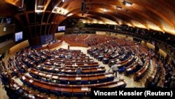 FRANCE – A session of the Parliamentary Assembly of the Council of Europe in Strasbourg, April 25, 2017.