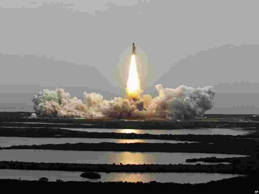 پرتاب شاتل «آتلانتیس» و آغاز ۱۳۵امین و آخرین مأموریت پرواز شاتل ناسا- ۱۷ تیرماه