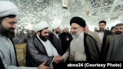 Ebrahim Raisi, Iranian cleric and the current custodian and chairman of Astan Quds Razavi.