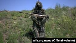 Спецпризначенець Центру спеціальних операцій «А» СБУ. Донбас
