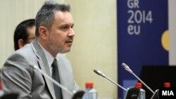 Амбасадорот на Република Грција во Република Македонија, Харис Лалакос.