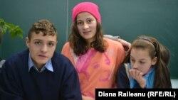 Valeria și colegii ei