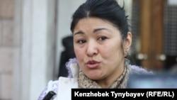 Қоғамдық белсенді, кәсіпкер әйел Қанағат Такеева.