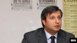 Дарко Алексов, извршен директор на граѓанската асоцијација МОСТ.