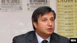 Извршниот директор на граѓанската асоцијација МОСТ Дарко Алексов