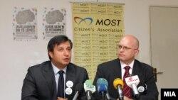 Филип Рикер и Дарко Алексов од МОСТ