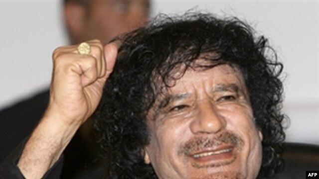 """""""Dr. Qaddafi, I presume."""""""