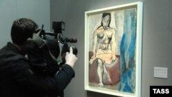 """Этюд Пабло Пикассо """"Сидящая обнаженная"""". Из собрания Национального музея Пикассо, Париж"""