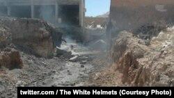 Наслідки обстрілу з боку сирійських урядових сил на півдні провінції Ідліб, Сирія, 9 вересня 2018 року