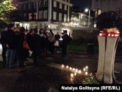 Русская община Лондона отмечает День политзаключенных (30 октября 2014)