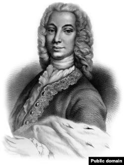 Poetul și diplomatul rus de origine română Antioh Cantemir, fiul voievodului Dimitrie Cantemir