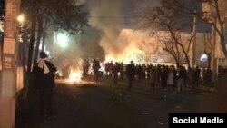 Իրան - Ոստիկանության և սուֆի աղանդի հետևորդների բախումները Թեհրանում, 19-ը փետրվարի, 2018թ․