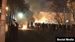 Eýranyň paýtagty Tähranda geçirilen protestler. 19-njy fewral, 2018 ý.