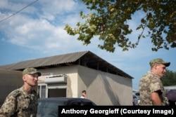 Российские военные в Абхазии