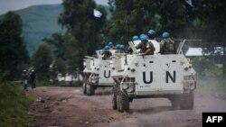 Илустрација - Архивска фотографија од конвој на ОН во Конго