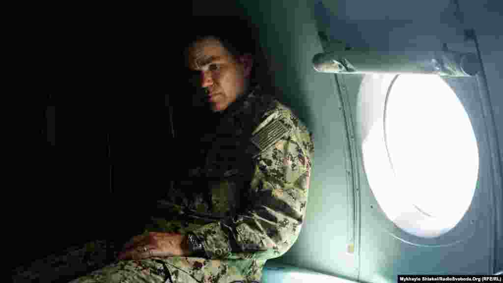 Капітан 1-го рангу Метью Ліман, командир тактичного з'єднання «65»