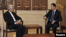 Takimi Bashar al-Assad - Said Jalili në Damask
