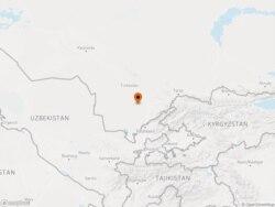 Arys, in southern Kazakhstan