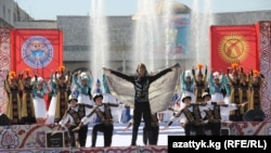 Бишкектеги эгемендик майрамы, 31-август 2012-жыл.
