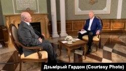 Александр Лукашенко и Дмитрий Гордон