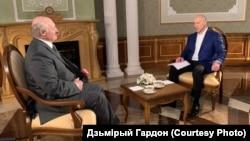 Аляксандар Лукашэнка і Дзьмітрый Гардон