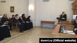 Мөфти Камил Сәмигуллин Русия динара шурасында чыгыш ясый