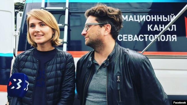 Бывший генеральный продюсер телеканала ИКС Татьяна Дружняева и экс-директор Алексей Папченя