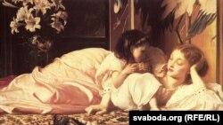 Lord Frederick Leighton: Ana və Uşaq (1865)