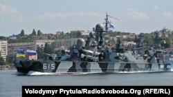 Один из кораблей Черноморского флота