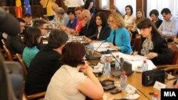 Седница на Националниот совет за евроинтеграции.