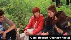 Участники экспедиции памяти Петра Шпиня