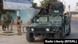 Афганські військові в Кундузі, 6 жовтня 2016 року