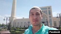 Андижонлик блогер Абдуфатто Нуритдинов.