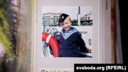 Сашко, онук Алеся Сологуба, у Франції. 2011 рік