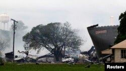 Експлозијата во Тексас
