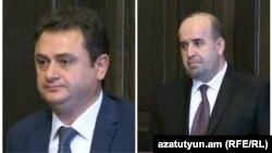 Айк Чобанян и Тигран Петросян