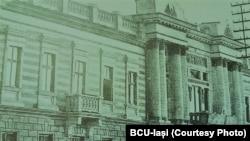 Clădirea Consiliului Directorilor Generali din Basarabia, sursa: BCU-Iași