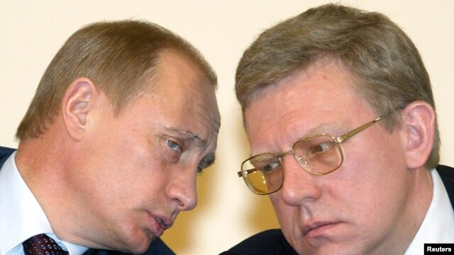Russian Finance Minister Aleksei Kudrin (right) has been one of the most trusted figures in Prime Minister Vladimir Putin's inner circle.