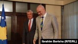 Hashim Thaci i Edi Rama
