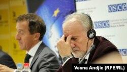 Vladimir Vukčević na konferenciji, foto: Vesna Anđić