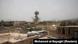 Sanaa, Jemen. Fotografi nga arkivi.
