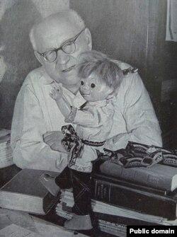 З Васем Вясёлкіным. 1963