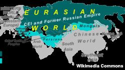 Russia - Eurasia map
