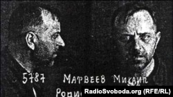 Михайло Матвеєв. Фото із його архівно-слідчої справи