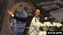 FILE: Pakistani Prime Minister Imran Khan