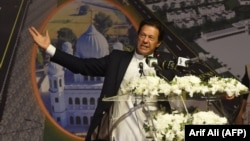 Taliban officials say they will meet with Pakistani Prime Minister Imran Khan and U.S. negotiators in Islamabad.