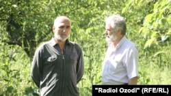 Беседа журналиста Радио Озоди с Мирзохуджа Ахмадовым
