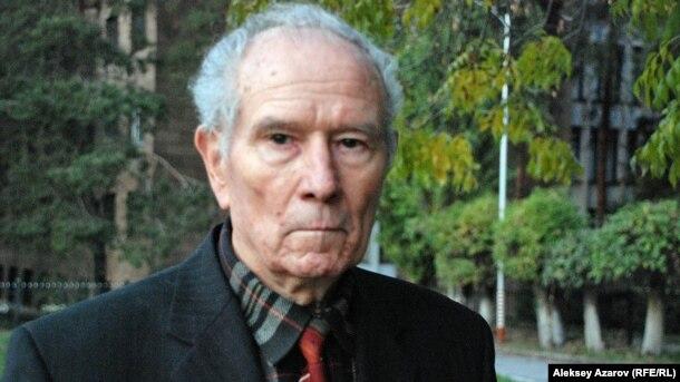 Совет армиясының ардагері Юрий Падюков. Алматы, 21 қазан 2011 жыл.